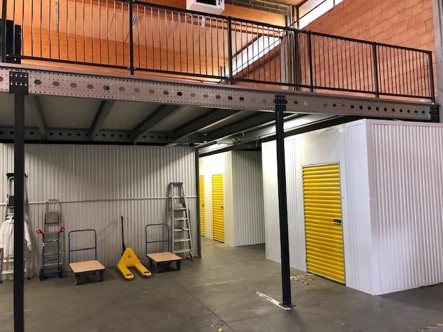 Entresolvloer Safe Store Gent