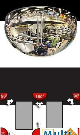 Spiegel BM 60-3 60 cm-0