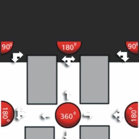 Spiegel BM 60-2 60 cm-0