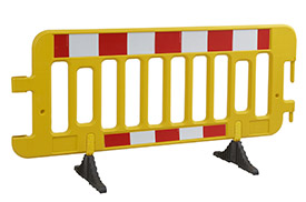Kunststof veiligheidshekken en barriéres