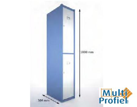Garderobekast 2 deurs 1.800 mm x 504 mm x 300 mm-0