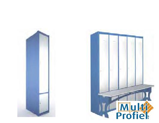 Garderobekasten 2 deurs 1.800 mm x 504 mm x 400 mm-0