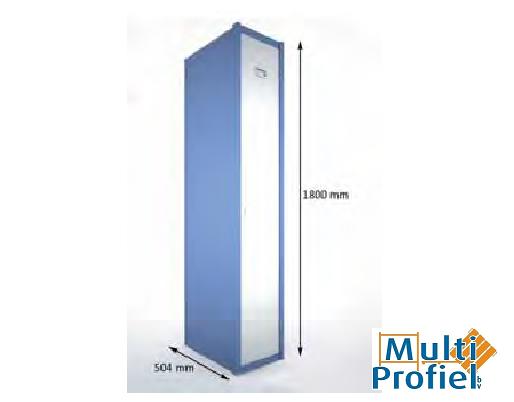 Garderobekast 1 deur 1.800 mm x 504 mm x 400 mm-0
