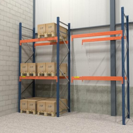Palletstelling 2.000 mm x 1.850 mm x 1.100 mm -0