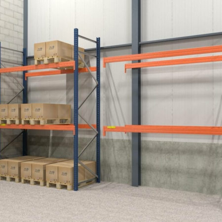 Palletstelling 5.000 mm x 2.700 mm x 1.100 mm 1.800kg -0
