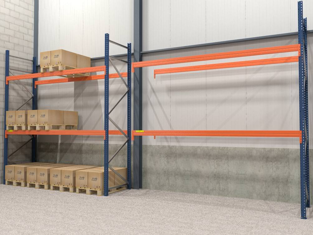 Multi Profiel Palletstelling 4.000 x 3.600 x 1.100 mm (2.500 kg)